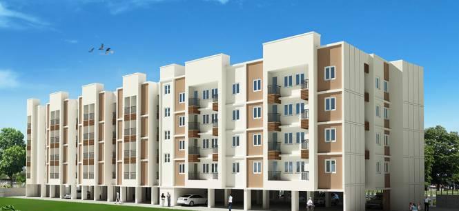 600 sqft, 2 bhk Apartment in Radiance Mercury Perumbakkam, Chennai at Rs. 21.6000 Lacs