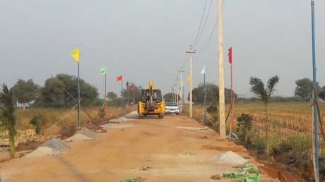 1200 sqft, Plot in Builder Ashraya venture Gandhi Nagar, Bellary at Rs. 6.9000 Lacs