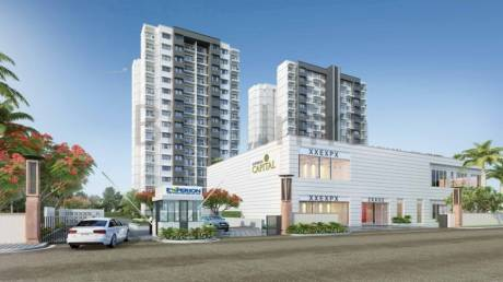 1415 sqft, 3 bhk Apartment in Experion Capital Gomti Nagar, Lucknow at Rs. 89.1300 Lacs