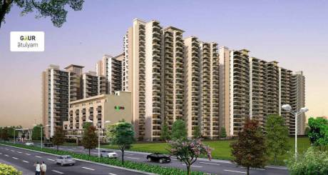 955 sqft, 2 bhk Apartment in Gaursons Atulyam Omicron, Greater Noida at Rs. 29.8003 Lacs