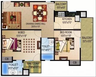 1144 sqft, 2 bhk Apartment in Quantum Quantum Homes Raj Nagar Extension, Ghaziabad at Rs. 31.0000 Lacs