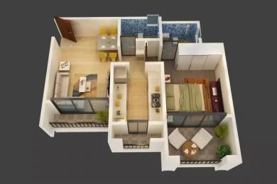 795 sqft, 1 bhk Apartment in Triveni Dynamic Ultima Kalyan West, Mumbai at Rs. 44.0000 Lacs