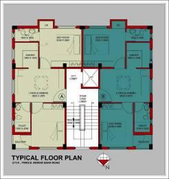 744 sqft, 2 bhk Apartment in Builder Project Prince Anwar Shah Rd, Kolkata at Rs. 45.0000 Lacs