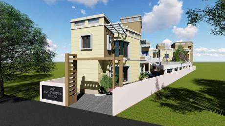 1240 sqft, 3 bhk Villa in Builder sky villas garden Camp Road, Chennai at Rs. 95.0000 Lacs