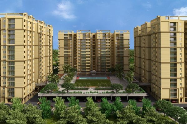 1686 sqft, 3 bhk Apartment in Pacifica Happiness Towers Padur, Chennai at Rs. 64.6000 Lacs