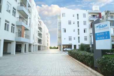 1560 sqft, 3 bhk Apartment in S And P Living Spaces Ayanambakkam, Chennai at Rs. 85.0000 Lacs