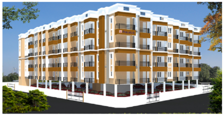 1123 sqft, 2 bhk Apartment in Suprabhath Majestic Sriperumbudur, Chennai at Rs. 46.0800 Lacs