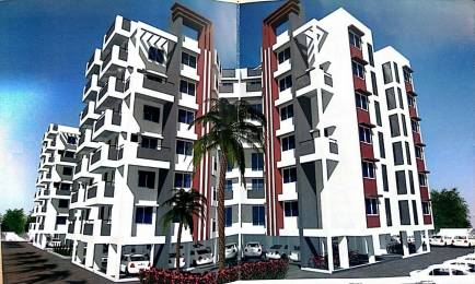 1075 sqft, 2 bhk Apartment in Builder Om Shivam Buildcon Shiv Brighton Phase I New Khapri wardha road Wardha Road, Nagpur at Rs. 40.8500 Lacs