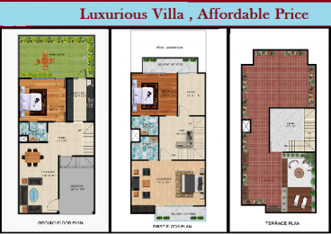 1800 sqft, 3 bhk Villa in Shubh Villa Tech Zone, Greater Noida at Rs. 44.8000 Lacs