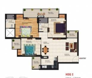 1320 sqft, 3 bhk Apartment in Victory Crossroads Sector 143B, Noida at Rs. 12500