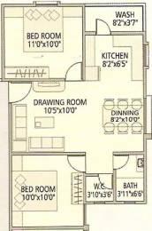 850 sqft, 2 bhk Apartment in Galaxy Group Gokul Galaxy Nava Naroda, Ahmedabad at Rs. 16.0000 Lacs