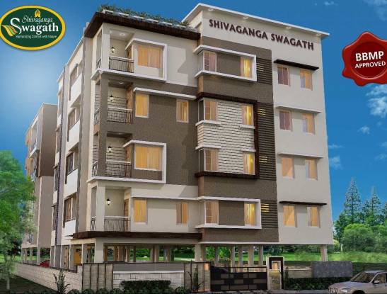 870 sqft, 2 bhk Apartment in Builder Shivaganga Swagath Bommasandra, Bangalore at Rs. 31.3200 Lacs