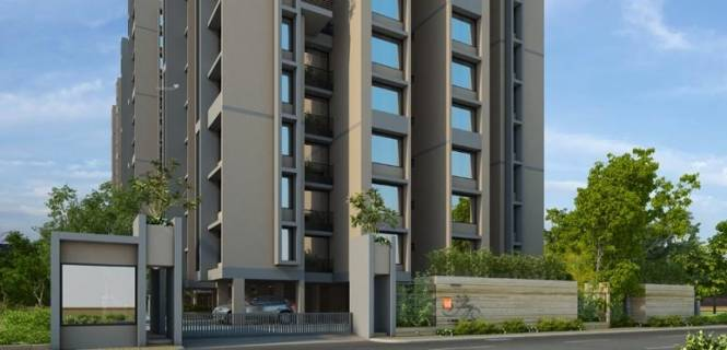1375 sqft, 3 bhk Apartment in Gala Glory Bopal, Ahmedabad at Rs. 44.0000 Lacs