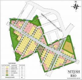 2400 sqft, Plot in Nitesh Rio Talaghattapura, Bangalore at Rs. 1.2720 Cr