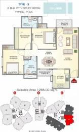 1255 sqft, 2 bhk Apartment in Riddhi Sky 25 Bhankrota, Jaipur at Rs. 64.0000 Lacs