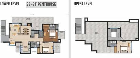 1900 sqft, 3 bhk Apartment in Sushma Crescent Dhakoli, Zirakpur at Rs. 62.0000 Lacs