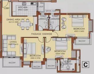 1685 sqft, 3 bhk Apartment in ATS Advantage Phase 2 Ahinsa Khand 1, Ghaziabad at Rs. 1.3800 Cr