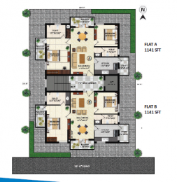 1140 sqft, 2 bhk Apartment in Builder Project Vadavalli, Coimbatore at Rs. 45.0000 Lacs