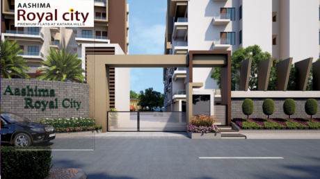 1350 sqft, 3 bhk Apartment in Builder Aashima royal city Bagmugalia, Bhopal at Rs. 27.0000 Lacs