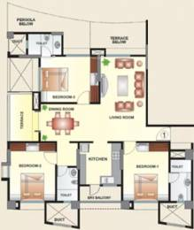 1570 sqft, 3 bhk Apartment in Kool Homes Arena Balewadi, Pune at Rs. 1.0500 Cr