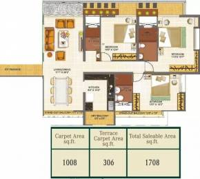 1708 sqft, 3 bhk Apartment in Mittal Imperium Balewadi, Pune at Rs. 1.4000 Cr