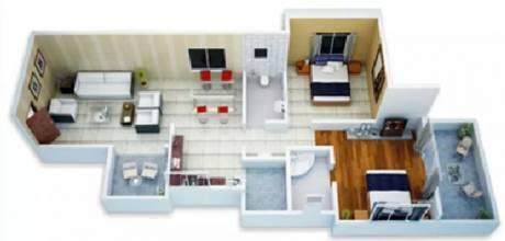 1055 sqft, 2 bhk Apartment in Sukhwani Callisto Wakad, Pune at Rs. 64.0000 Lacs