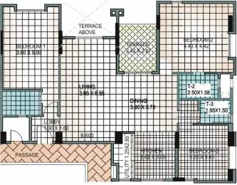 1730 sqft, 3 bhk Apartment in Shambhu Twin Nest Pashan, Pune at Rs. 29000