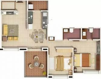 1192 sqft, 2 bhk Apartment in Rachana Bella Casa Sus, Pune at Rs. 18000