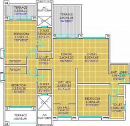 1600 sqft, 3 bhk Apartment in Kolte Patil 24K Glitterati Pimple Nilakh, Pune at Rs. 1.3800 Cr