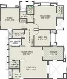 1574 sqft, 3 bhk Apartment in Vanshaj Kiona Balewadi, Pune at Rs. 99.0000 Lacs