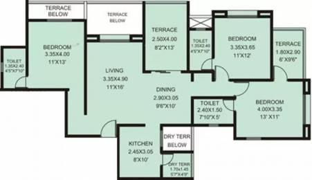 1482 sqft, 3 bhk Apartment in Rachana My World Baner, Pune at Rs. 1.1500 Cr