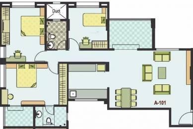 1436 sqft, 2 bhk Apartment in Sanskruti Basant Bahaar Pashan, Pune at Rs. 27000