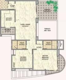 1318 sqft, 2 bhk Apartment in Balaji Metro Jazz Mahalunge, Pune at Rs. 20000
