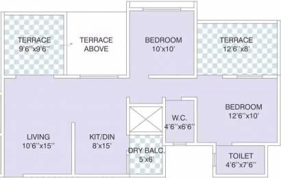 963 sqft, 2 bhk Apartment in Reelicon Felicia Pashan, Pune at Rs. 18000
