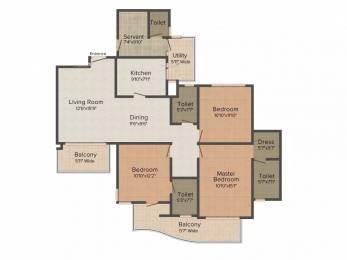 2262 sqft, 3 bhk Apartment in Western Sankheshwara Heights Adajan, Surat at Rs. 21000