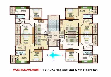 810 sqft, 2 bhk Apartment in Mahalaxmi Sanyog Park Besa, Nagpur at Rs. 26.0000 Lacs