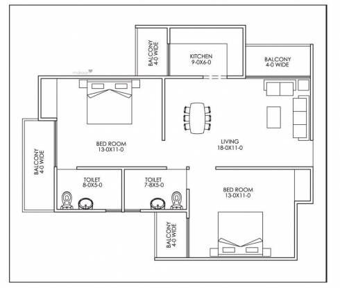 1250 sqft, 2 bhk Apartment in CGHS Kunj Vihar Apartment Sector 12 Dwarka, Delhi at Rs. 32.8000 Lacs