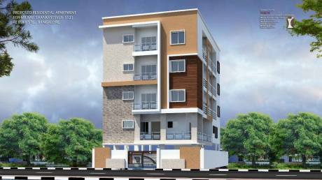 1030 sqft, 2 bhk Apartment in Builder Project Thyagarajanagar, Bangalore at Rs. 77.2500 Lacs