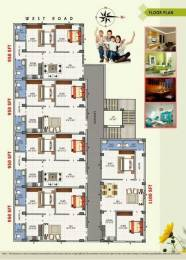 950 sqft, 2 bhk Apartment in Builder Choodamani Enclave Gopalapatnam, Visakhapatnam at Rs. 29.0000 Lacs