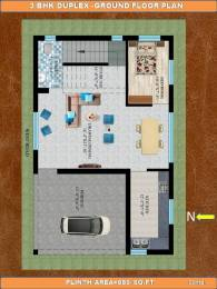 1200 sqft, 3 bhk Villa in Builder Project Patia, Bhubaneswar at Rs. 65.0000 Lacs