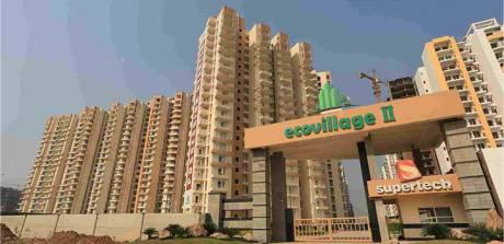 1100 sqft, 2 bhk Apartment in Supertech Eco Village II Sector 16B, Noida at Rs. 30.7890 Lacs