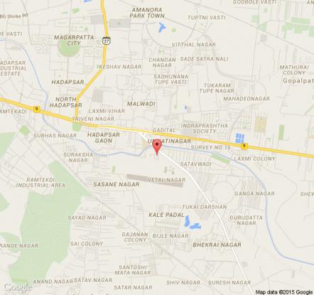 570 sqft, 1 bhk Apartment in Builder Oxferd Blue Hadapsar, Pune at Rs. 37.0000 Lacs