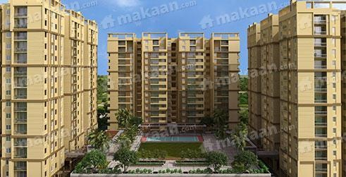 1263 sqft, 2 bhk Apartment in Pacifica Happiness Towers Padur, Chennai at Rs. 43.8100 Lacs