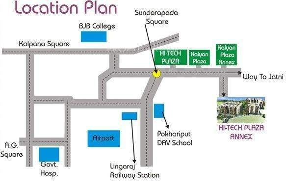 1574 sqft, 4 bhk Apartment in Hi Tech Hi Tech Plaza Annex Khordha, Bhubaneswar at Rs. 34.6000 Lacs