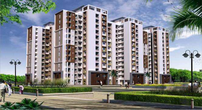 1186 sqft, 2 bhk Apartment in Spring Greens Phase 1 Gomti Nagar, Lucknow at Rs. 34.3940 Lacs