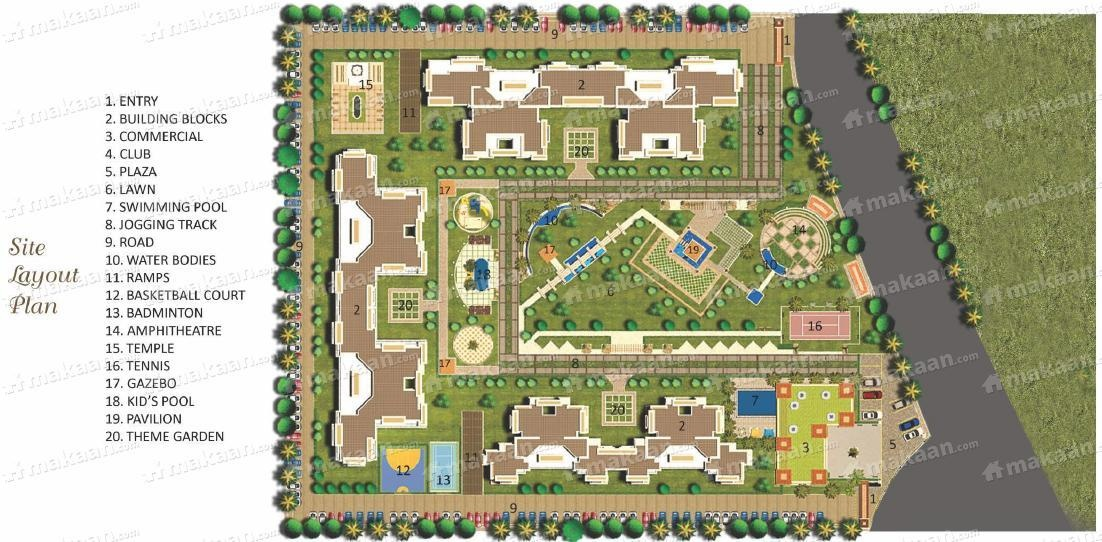 2099 sq ft 3BHK 3BHK+4T (2,099 sq ft) Property By Ajmani Estates In Athena, Sector 75