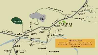 1122 sqft, 2 bhk Apartment in Aarav Castles Kharadi, Pune at Rs. 57.5000 Lacs