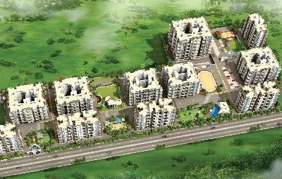 580 sqft, 1 bhk Apartment in Maple Aura County Wagholi, Pune at Rs. 32.0000 Lacs