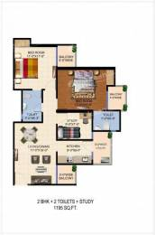 2 BHK Apartment available with Swimming Pool