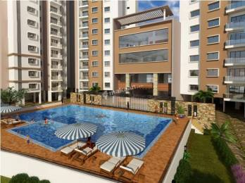3 BHK Flat available with Reserved Car Parking & Swimming Pool
